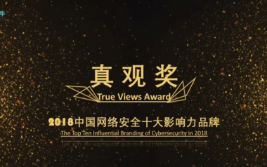 真观奖:百位市场总监选出中国网络安全十大影响力品牌