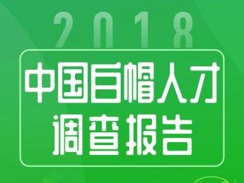《2018中国白帽人才调查报告》带你走进白帽子的世界